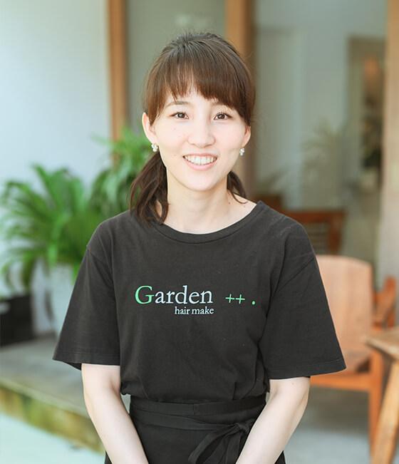 2010年入社/Garden++.浦上 真愛子 (小出美容専門学校卒)