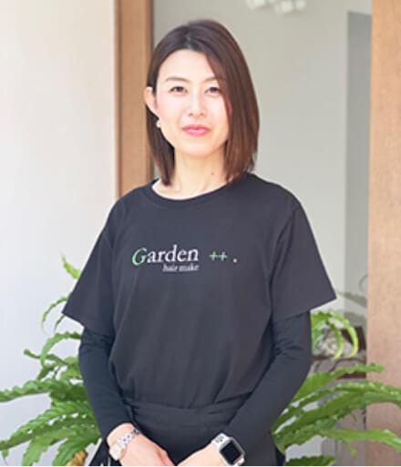 2018年入社 Garden++. 川原 さやか(小出美容専門学校卒)