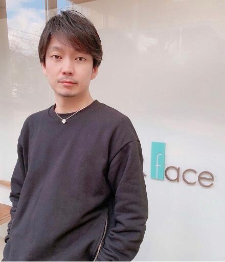 株式会社NUTRAL「DERE-DIR face」代表 瑞原 大輔 (日本高等美容専門学校卒)