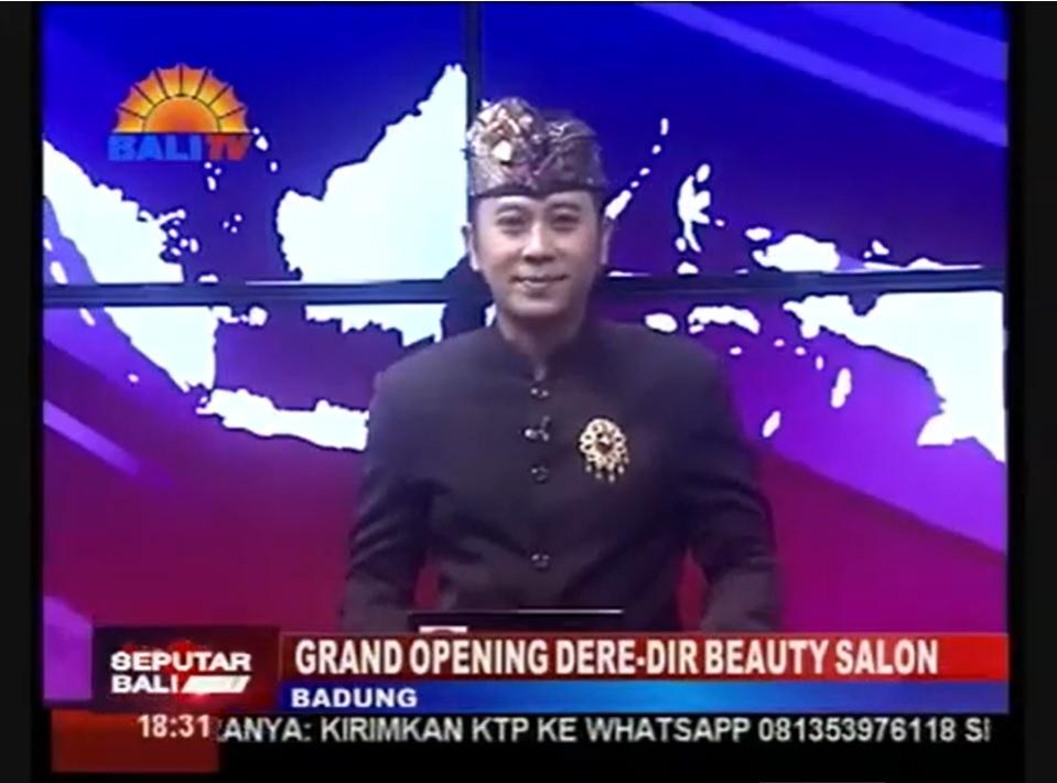現地のテレビ局Bali TVに取材して頂きました!