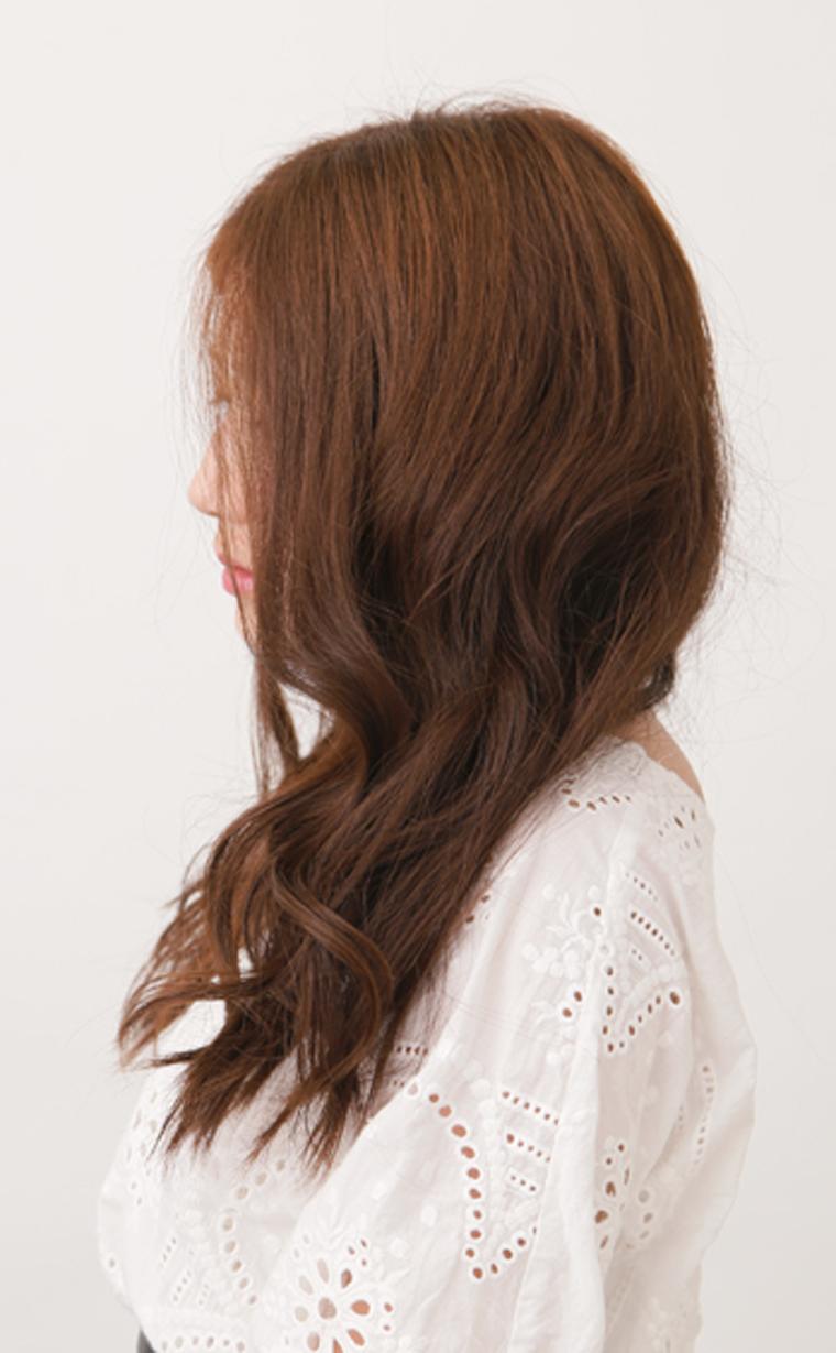 くせ毛風巻き髪スタイル2