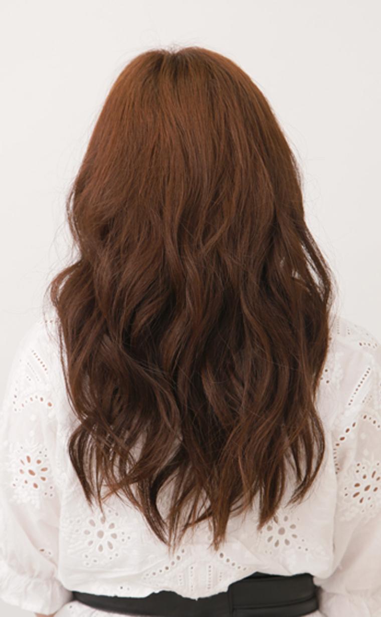 くせ毛風巻き髪スタイル3