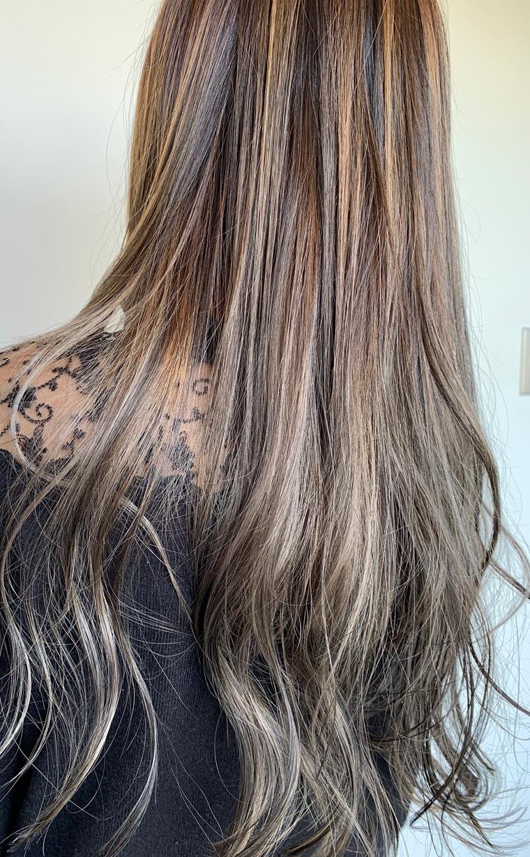 オーダーメイドカラー&艶髪トリートメント